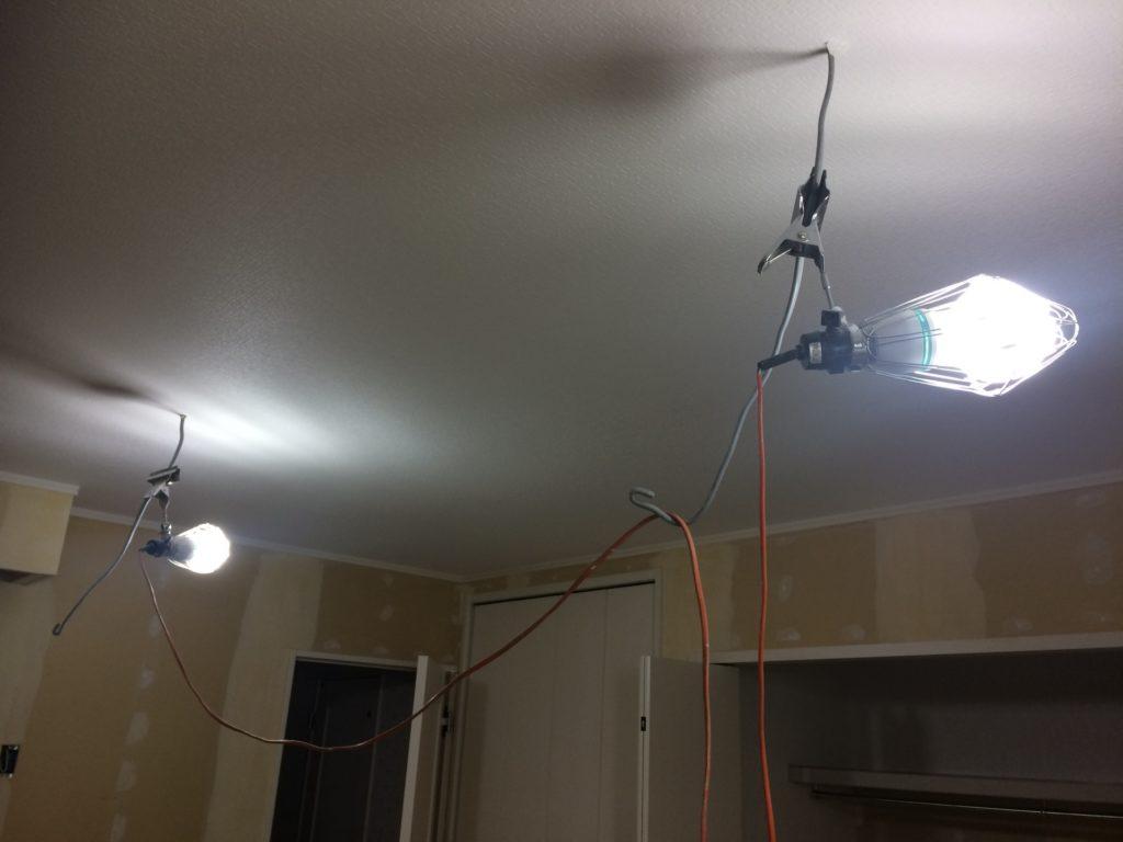 仮設電気工事は、細部まで決めておく